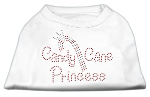 Candy Cane Princess Shirt White S (10)